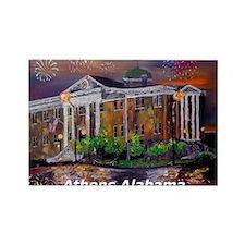 Athens Alabama Courthouse Rectangle Magnet