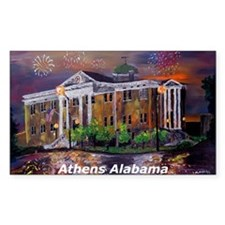 Athens Alabama Courthouse Decal