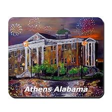 Athens Alabama Courthouse Mousepad