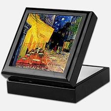 Van Gogh, Cafe Terrace at Night Keepsake Box