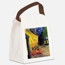 Van Gogh, Cafe Terrace at Night Canvas Lunch Bag