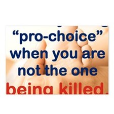 ITS EASY BEING PRO CHOICE Postcards (Package of 8)