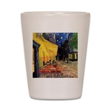 Van Gogh, Cafe Terrace at Night Shot Glass