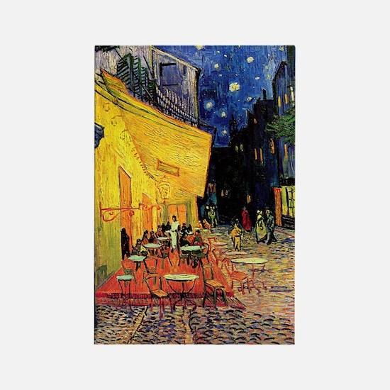Van Gogh, Cafe Terrace at Night Rectangle Magnet