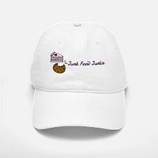 Junk Food Junkie Baseball Baseball Cap