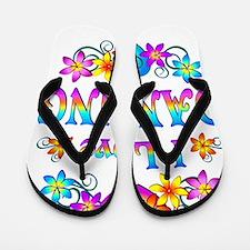 I Love Dancing Flip Flops