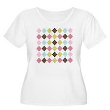 Pastel  Brown T-Shirt