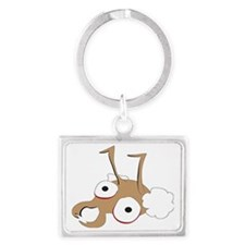 Manager Ants head Landscape Keychain