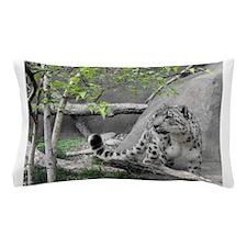snow leopard.jpg Pillow Case