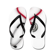 Nurses Have Heart Flip Flops