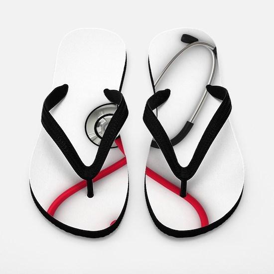 Nurses Have Heart Flip Flops