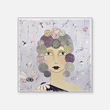 "Phenomenal Woman Square Sticker 3"" x 3"""