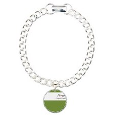 Hongaku Original Emptine Charm Bracelet, One Charm