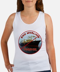 End Whaling Forever Women's Tank Top