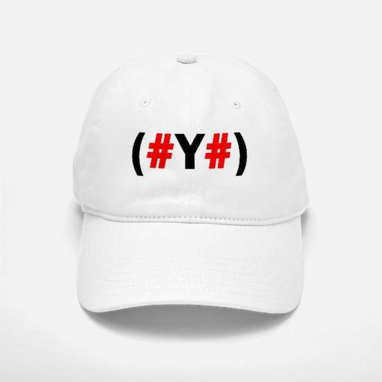 (#Y#) Baseball Baseball Cap