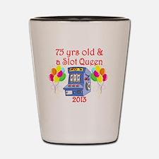 75TH GAMBLING Shot Glass