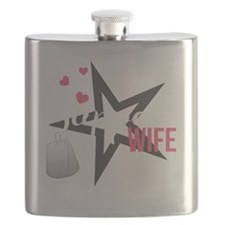 Sappers Wife Flask
