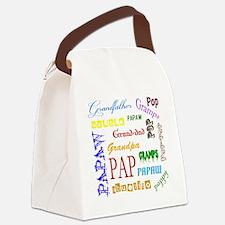 Gotta Love Grandpa Canvas Lunch Bag