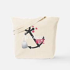 Seabees Wife Tote Bag