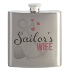 Sailors Wife Flask