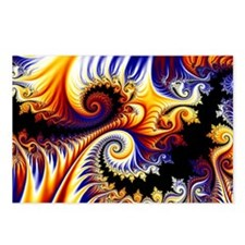 Swirls - Clutch Bag Postcards (Package of 8)