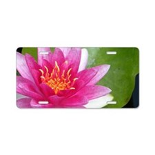 Waterlily - Coin Purse Aluminum License Plate