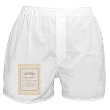 2012leavespchinvitation_5_7flat Boxer Shorts