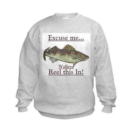 Reel this in Kids Sweatshirt