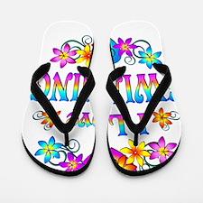 I Love Swimming Flip Flops