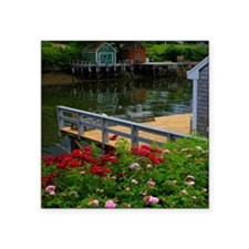 "Downeast Beauty Square Sticker 3"" x 3"""
