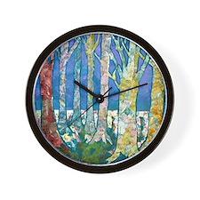 Tree Tapestry 2 Wall Clock