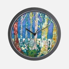 Tree Tapestry 2 Wall Clock