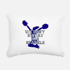Cheerleader we sparkle Rectangular Canvas Pillow