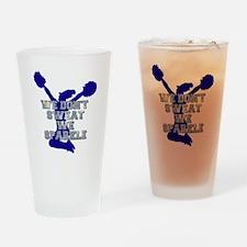 Cheerleader we sparkle Drinking Glass