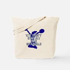 Cheerleader we sparkle Tote Bag