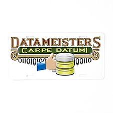 Datameisters Aluminum License Plate