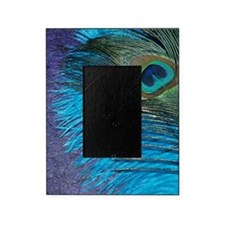 Purple and Teal Peacock Picture Frame