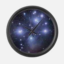 pleaides Large Wall Clock