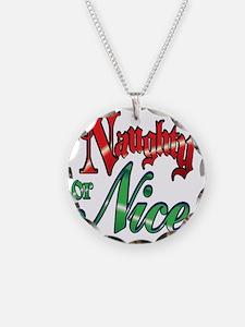 Christmas Naughty or Nice Ca Necklace