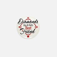 Diamonds BR Mini Button