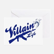 Villain Life AK47 Greeting Card