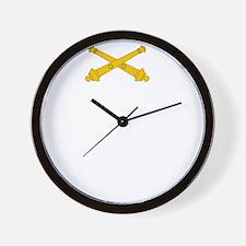 Call for Artillery Wall Clock