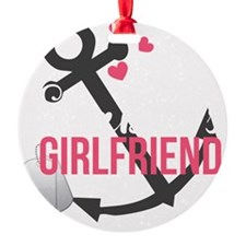 Seabees Girlfriend Ornament