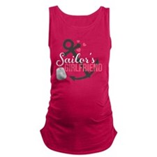 Sailors Girlfriend Maternity Tank Top