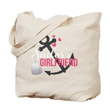 Sailors Girlfriend Tote Bag