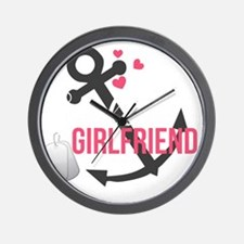 Sailors Girlfriend Wall Clock