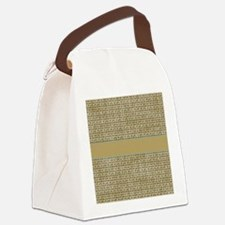 countrystarsandcircles Canvas Lunch Bag