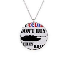 My Colors Don't Run, They Ro Necklace Circle Charm