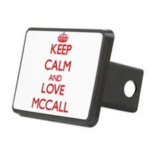 Keep calm and love Mccall Hitch Cover