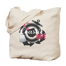 Coasties Wife Tote Bag